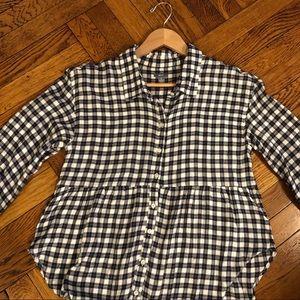 Aerie Soft Gingham Button Down Shirt